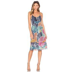 DVF Silk Franny Dress in Flower Power Dream
